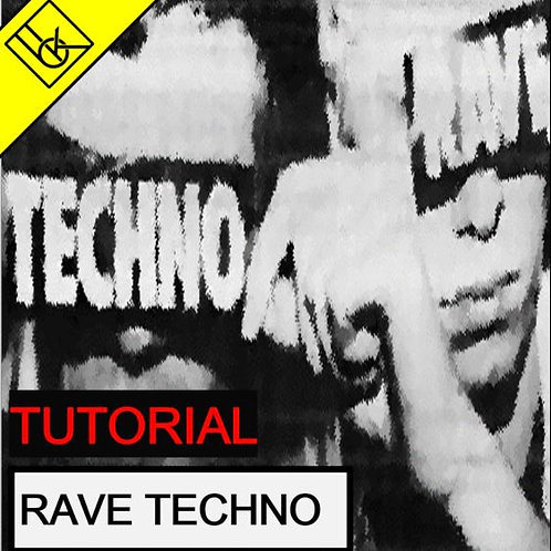 Rave TECHNO tutorial   Ableton Project File & Samples