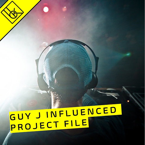 Ableton project melodic/progressive house template influenced by GUY J
