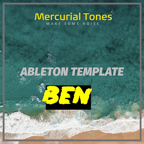 BEN - Progresive & melodic house Ableton Project Template