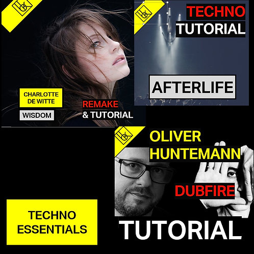 Essential Techno Production Tutorial Bundle - 1