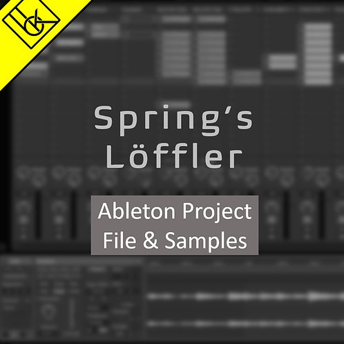 Spring's Löffler Ambient electronica template   Ableton Project Files & Samples