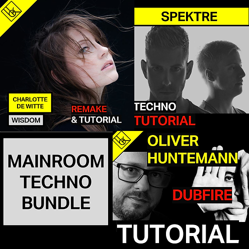 MainroomTechno Bundle - Project file & samples & presets