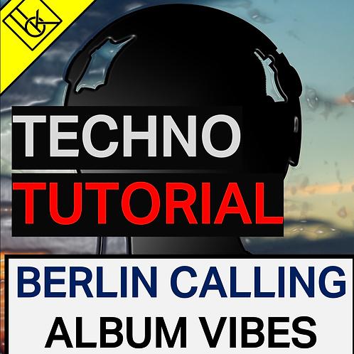 Paul Kalkbrenner - Berlin Calling Album influenced Progressive House tutorial