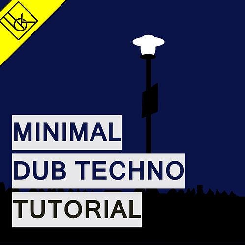 Minimal dub techno Template