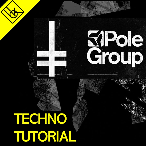 POLEGROUP abstract TECHNO tutorial | How to make dark repetetive abstract techno