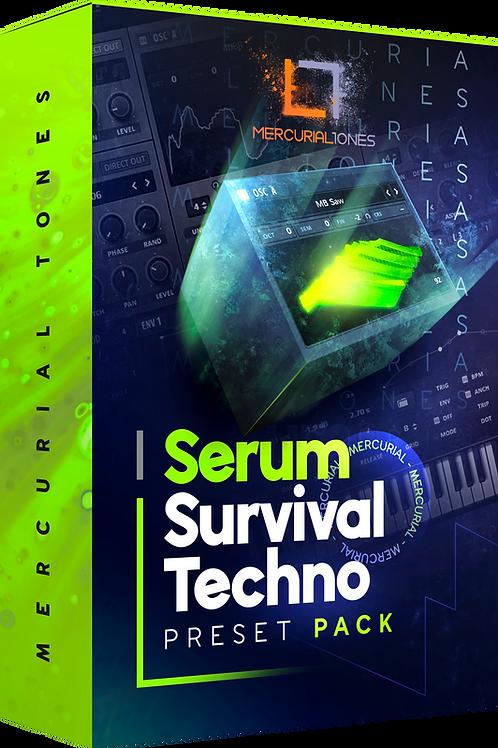 SERUM Ultimate Techno Survival Presets