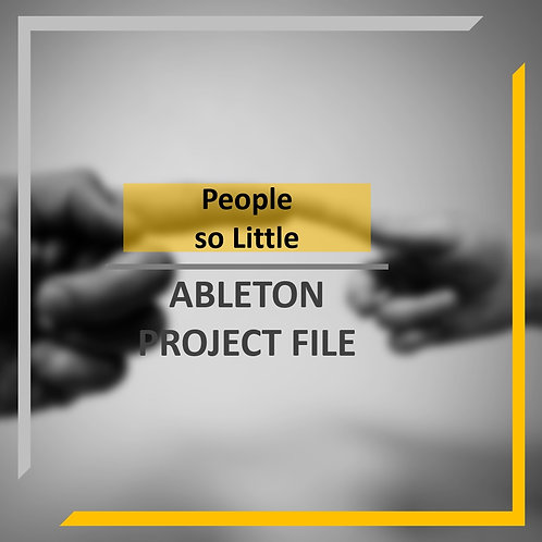 People so Little template | Ableton project & samples