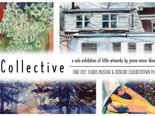 Collective - a solo exhibition of little artworks