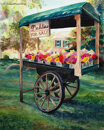 The Dahlia Cart