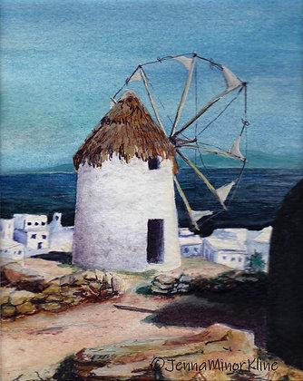 Windmill on Mykonos