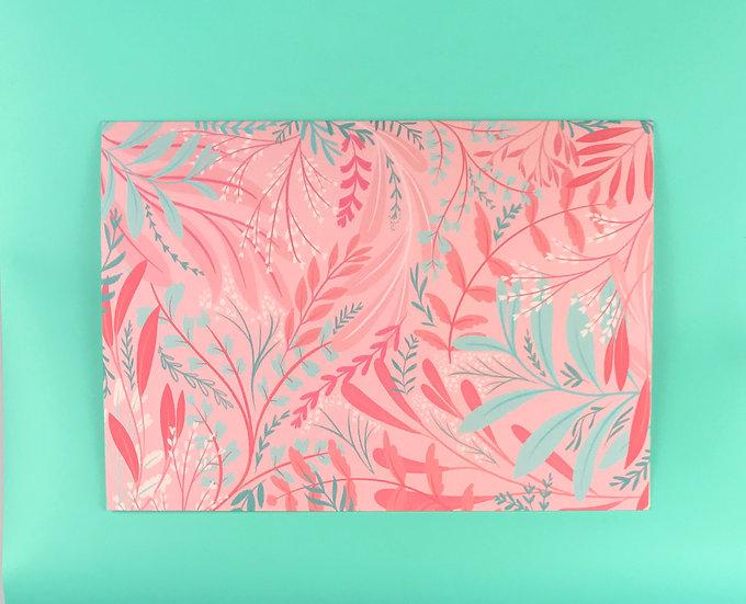 Pink Garden | No Text