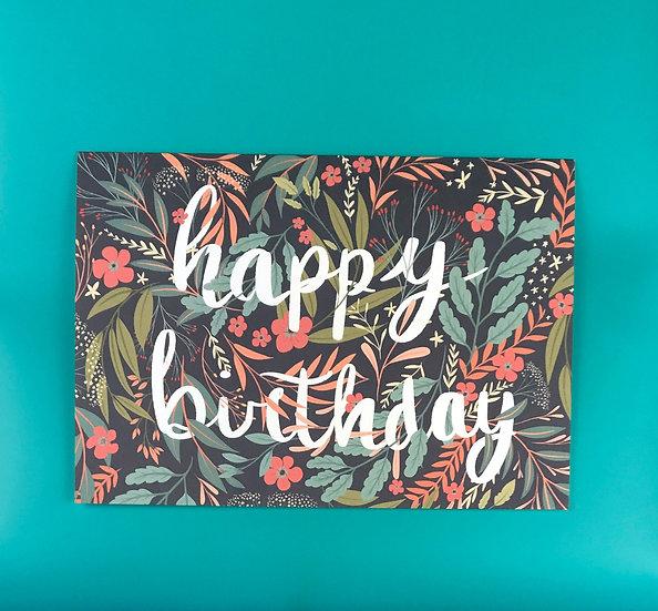 Dusky Garden | Happy Birthday