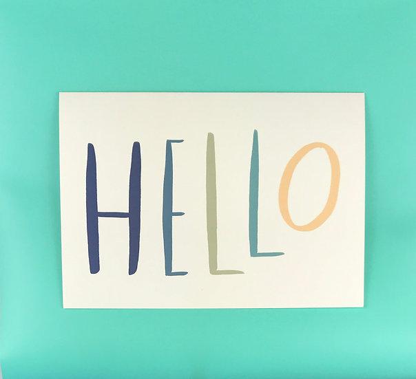 Hello | No. 1