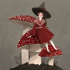 Fly agaric witch.jpg