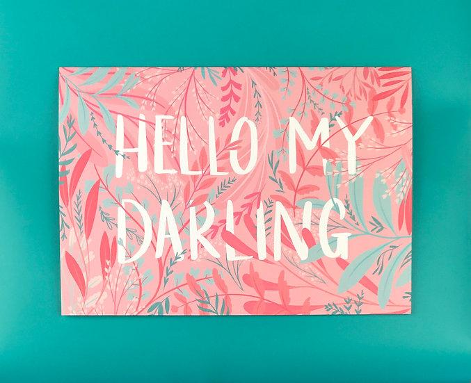 Pink Garden | Hello My Darling