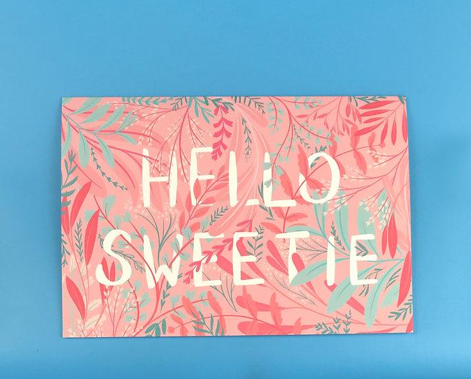 Pink Garden | Hello Sweetie