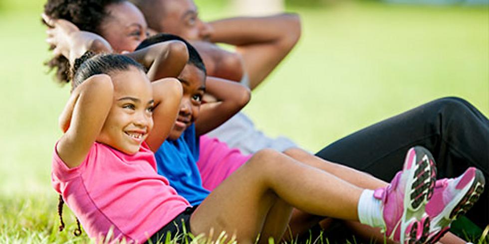 Kids Fitness Book Camp