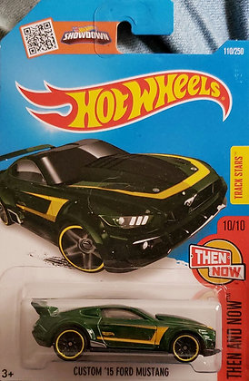Hot Wheels Then and Now - Custom '15 Ford Mustang