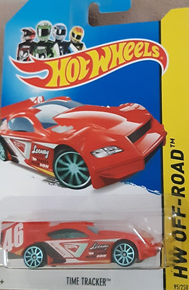 Hot Wheels Off-Road - Time Tracker