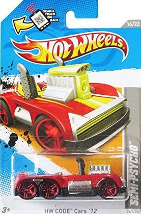 Hot Wheels Code Cars - Semi-Psycho