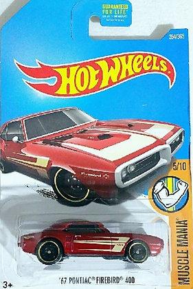 Hot Wheels Muscle Mania - '67 Pontiac Firebird 400