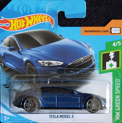 Hot Wheels Green Speed - Tesla Model S