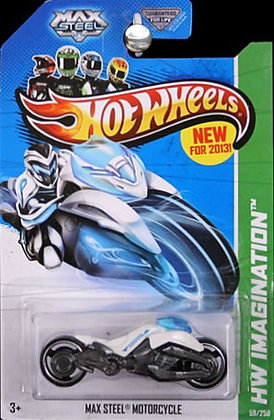 Hot Wheels Imagination - Max Steel Motorcycle