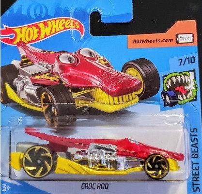 Hot Wheels Street Beasts - Croc Rod