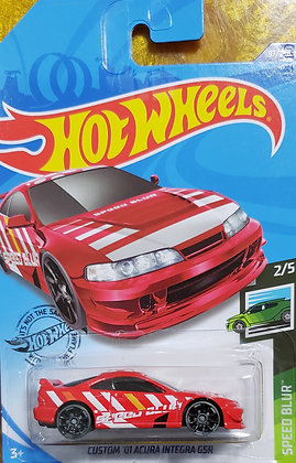 Hot Wheels Speed Blur - Custom '01 Acura Integra GSR