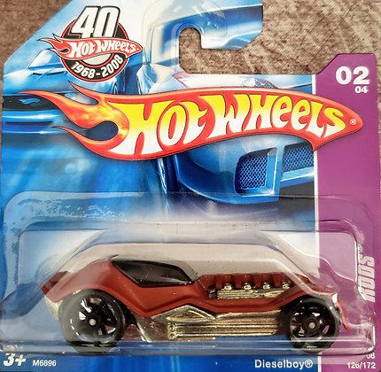 Hot Wheels Rat Rods - Dieselboy