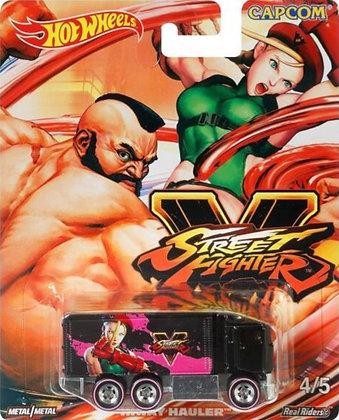 Hot Wheels Pop Culture - Street Fighter Hiway Hauler