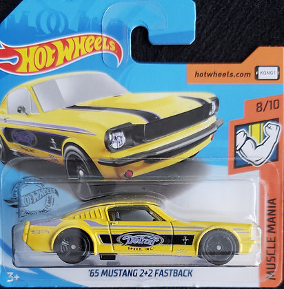 Hot Wheels Muscle Mania - '65 Mustang 2+2 Fastback