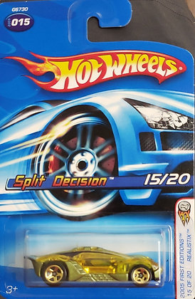 Hot Wheels Realistix First Editions - Split Decision