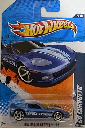 Hot Wheels Main Street - C6 Corvette