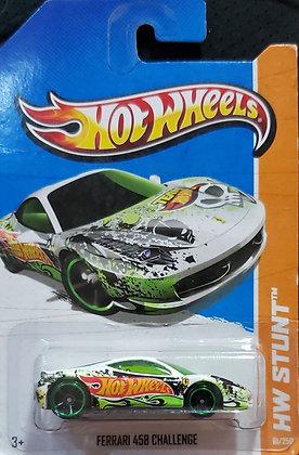 Hot Wheels Stunt - Ferrari 458 Challenge