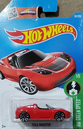 Hot Wheels Green Speed - Tesla Roadster