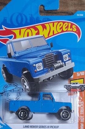 Hot Wheels Hot Trucks - Land Rover Series III Pickup