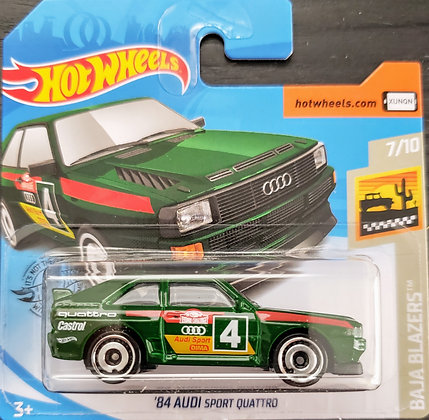 Hot Wheels Baja Blazers - '84 Audi Sport Quattro