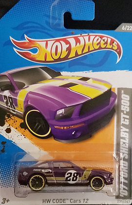 Hot Wheels Code Cars - '07 Ford Shelby GT-500