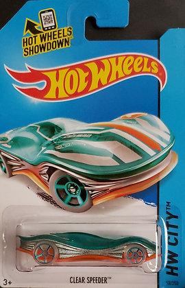 Hot Wheels City - Clear Speeder
