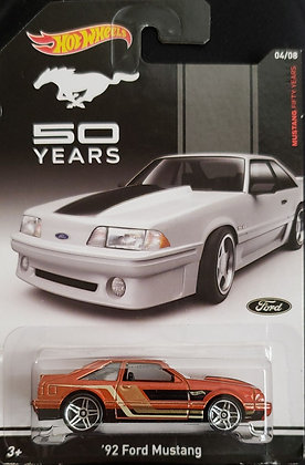 Hot Wheels Mustang Fifty Years - '92 Ford Mustang