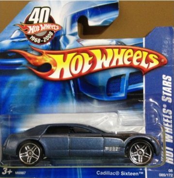 Hot Wheels Stars - Cadillac Sixteen