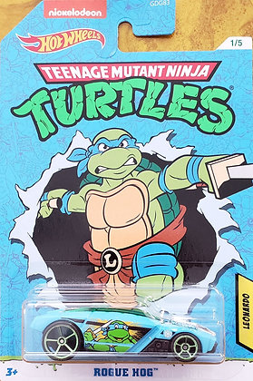 Hot Wheels Entertainment - Tartarugas Ninjas Rogue Hog