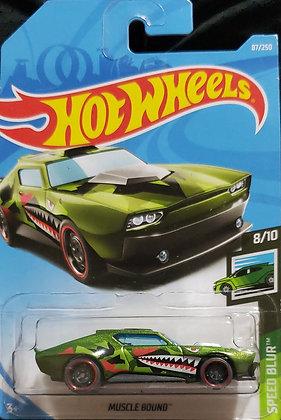 Hot Wheels Speed Blur - Muscle Bound
