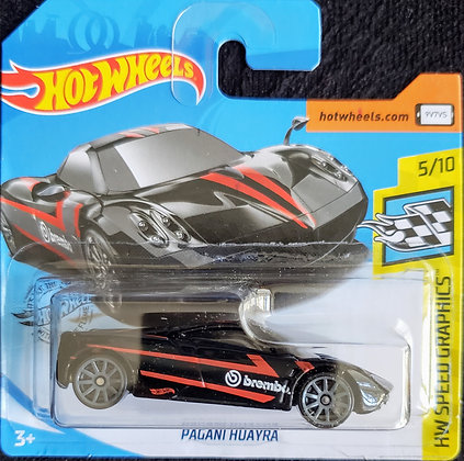 Hot Wheels Speed Graphics - Pagani Huayra