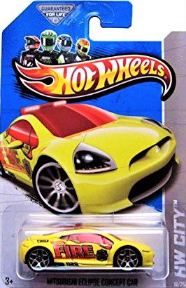 Hot Wheels City - Mitsubishi Eclipse Concept Car