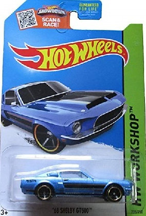 Hot Wheels Workshop - '68 Shelby GT500