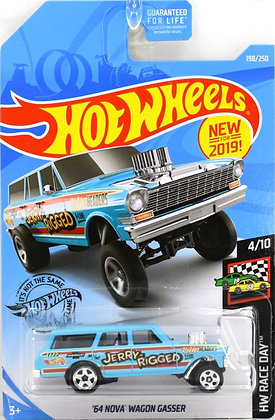 Hot Wheels Race Day - '64 Nova Wagon Gasser