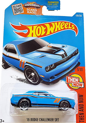 Hot Wheels Then and Now - '15 Dodge Challenger SRT