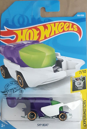Hot Wheels Experimotors - Sky Boat